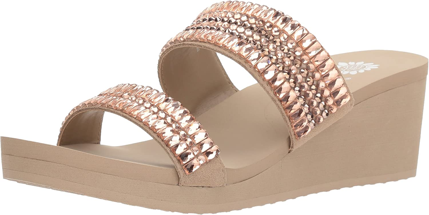 Yellow Box Womens Kyrie Wedge Sandal
