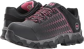 ティンバーランド シューズ スニーカー Powertrain Sport Alloy Safety Toe EH Black/Pink [並行輸入品]