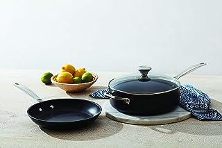 Le Creuset Toughened PRO 3 Piece Set Nonstick Cookware, 3 pc, Grey