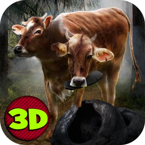 Mad Mutant Madness: Two-Headed Cow Survival