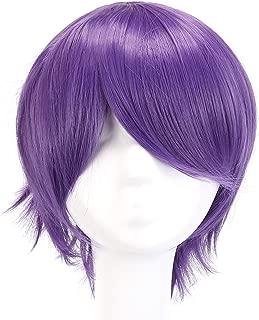 MapofBeauty 12 Inch/30cm Role Fashion Short Wig (Purple)