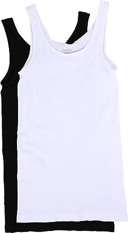 Coobie - Wide Strap Cami 2-Pack