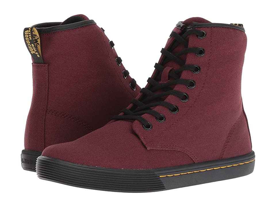 Dr. Martens Sheridan Octavo (Old Oxblood Canvas) Women