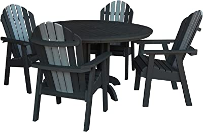 Highwood AD-DNA48-LUX Hamilton 5 Piece Dining Set, Height, Luxor