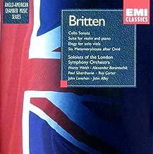 Britten: Chamber Music