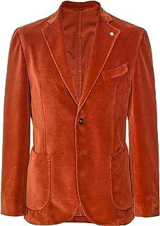Scotch Painter's Tape LBM 1911 Men's Cotton Velvet Jacket Orange