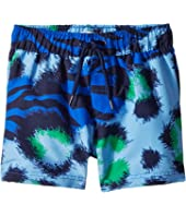 Kenzo Kids - Tiger Print Swim Shorts (Toddler/Little Kids)
