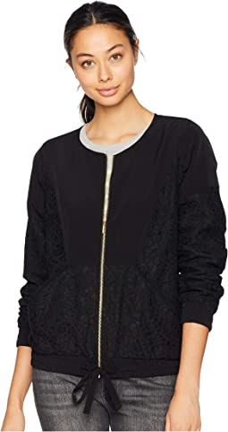Lace Detail Bomber