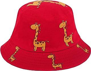 Surkat الضفدع دلو قبعة الصياد متعددة الألوان قبعة الشمس في الهواء الطلق الصيف قبعات الشاطئ للأطفال الرضع بنين بنات