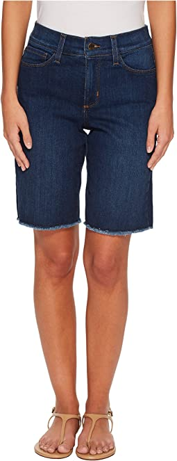 Petite Briella Shorts w/ Fray Hem in Cooper