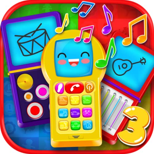 Baby Phone 3: Pretend Play Phones, Music, Animals, Songs & Learning Games FREE