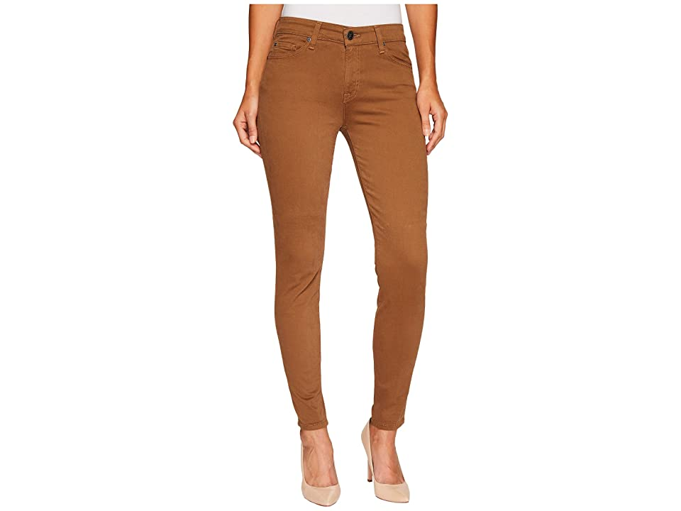Agave Denim Harlowe Twill Skinny Fit in Kangaroo (Kangaroo) Women's Jeans