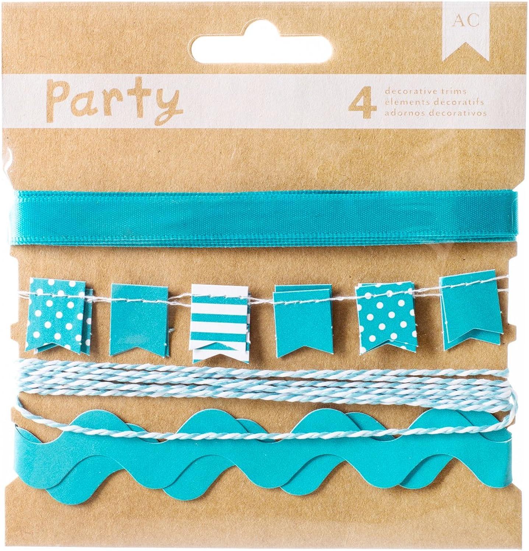 American Crafts Papier DIY DIY DIY Party Deko Zierteile – Blau und Weiß B00UY0Y61K | Hohe Qualität und Wirtschaftlichkeit  2c155a