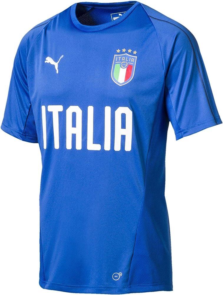 puma football figc italia training jersey maglietta ufficiale nazionale di calcio 75231612