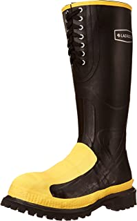 حذاء LaCrosse رجالي Meta-Pac AP 16 بوصة، أسود، 14 M US