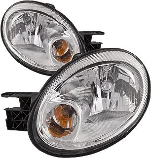 HEADLIGHTSDEPOT Headlight Halogen Type Compatible with Dodge Neon SRT (Pair)