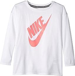 Nike Kids - Sportswear Essential Long Sleeve Top (Toddler)