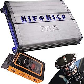 $139 » Hifonics ZG-1800.1D 1800 Watts Zeus Gamma Mono Subwoofer Car Audio Amplifier with Gravity Magnet Phone Holder
