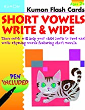 Short Vowels Write & Wipe (Kumon Flash Cards)