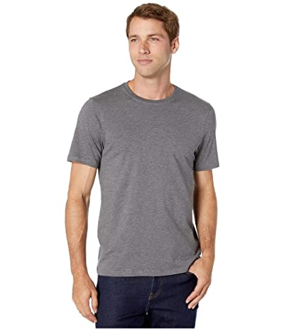 Toad&Co Tempo Short Sleeve Crew (Charcoal Heather) Men