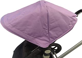 Light Purple Sun Shade Canopy Hood Cover Umbrella with Wires for Bugaboo Cameleon 1, 2, 3, Frog Baby Child Strollers