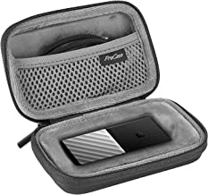 ProCase Carrying Case for WD My Passport SSD 1TB 2TB 256GB 512GB Portable Storage USB 3.1, WD Portable Solid State Drive Hard Travel Case –Black