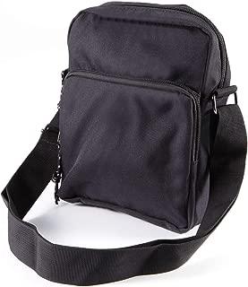 Carriemeow Simple Retro Belt Buckle Stitching Hit Color Square Leather Shoulder Bag Messenger Bag