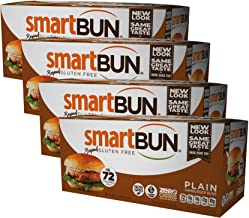 Sponsored Ad - Smart Baking Company Smartbuns, Gluten Free, Sugar Free and Carb Free Buns (Plain)