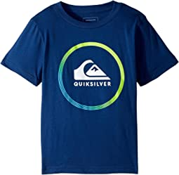 Quiksilver Kids - Active Logo Tee (Toddler/Little Kids)