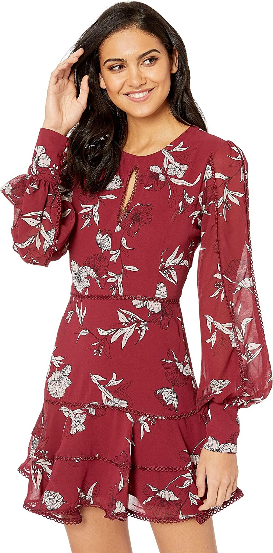 Bardot Womens Tammy Trim Dress