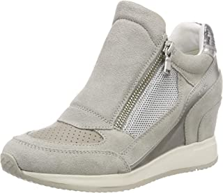 Amazon.co.uk: Geox Trainers Women's Shoes: Shoes & Bags