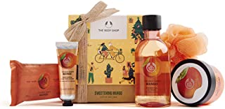 The Body Shop Mango- 5pc Small Gift Set with sweet body care treats, 16.23 Fl Oz