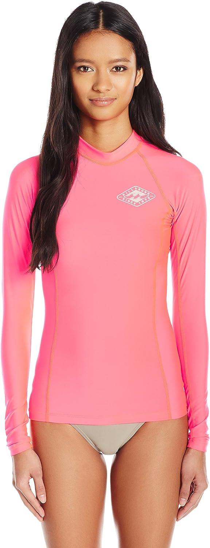 BILLABONG Womens Surf DayZ Pf Long Sleeve Long Sleeve Rashguard Rash Guard Shirt