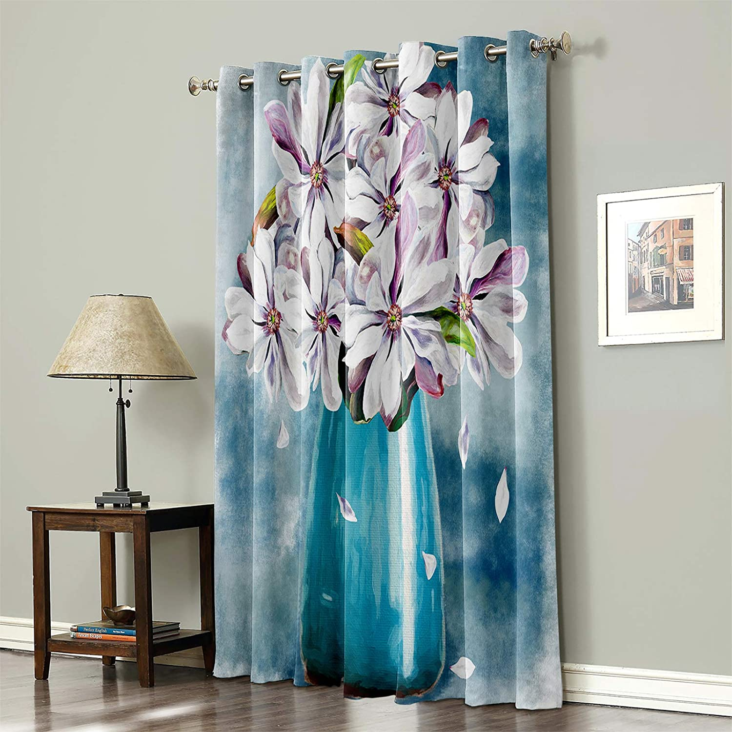 Blackout Curtain Thermal Max 76% Same day shipping OFF Insulated 1 Window Gromme Panel