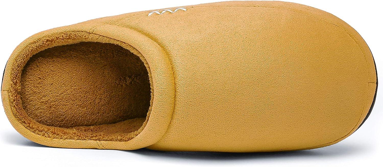 Mishansha Zapatillas de Casa Hombre Mujer C/álido Espuma de Memoria Invierno Pantuflas Gr.36-46 EU