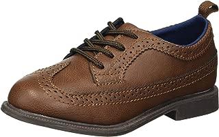 Carter's Kids Boy's Oxford5 Brown Dress Shoe Oxford