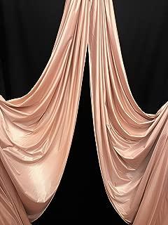 Low Stretch Aerial Silks/Yoga HAMMOCKS Fabric, Sells by The Yard Blush Nude