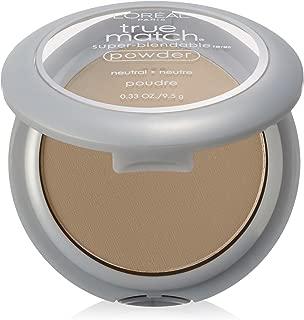 L'Oréal Paris True Match Super-Blendable Powder, Soft Ivory, 0.33 oz.