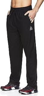 Reebok Men's Stride Track Pants - Performance Activewear Running & Workout Bottoms