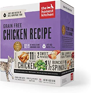The Honest Kitchen Human Grade Dehydrated Grain Free Chicken Cat Food 4 lb - Prowl