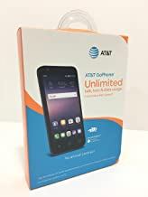 AT&T GoPhone Alcatel Ideal 4G LTE w/ 8GB Memory Prepaid Cell Phone Slate Blue