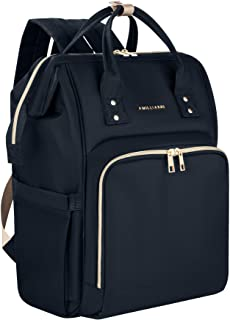 Diaper Bag Backpack Stylish And Chic w/6 Insulated Pockets & Detachable Stroller Straps Perfect For Moms On The Go