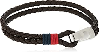 TOMMY HILFIGER men's stainless steel and leather bracelets -2700671