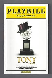 61st Annual TONY AWARDS