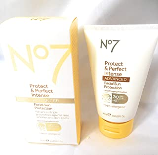 NO7 Protect and Perfect Intense Facial Sun Protection 30spf