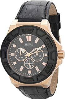 Guess Men's Quartz Watch, Analog Display and Silicone Strap W0674G6
