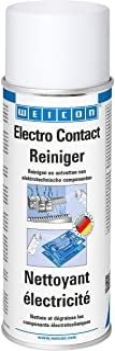 WEICON Nettoyant Electricité 400 ml/Spray contact incolore pour composants électroniques/Contre la corrosion, la poussière...