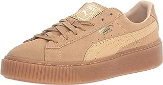Women's Suede Platform Core Fashion Sneaker