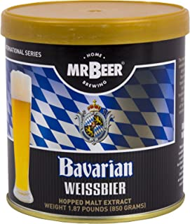 Mr. Beer Bavarian Wheat Beer 2 Gallon Homebrewing, Refill, Multicolor
