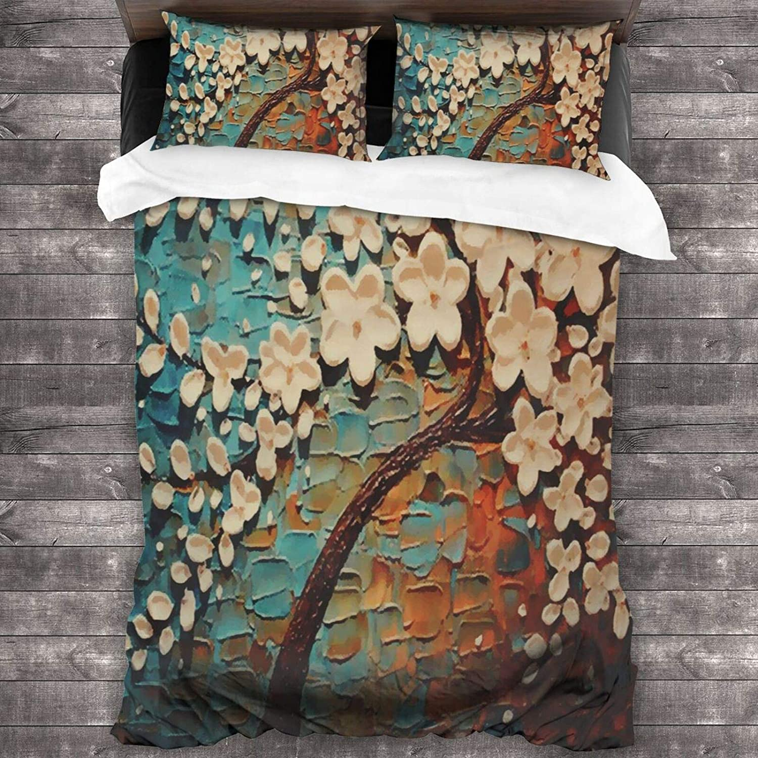 Hello Gorgeous Queen Mail order Comforter Set Free shipping anywhere in the nation Tree Lu Oil Patterns Painting